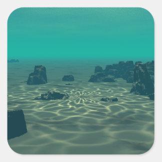 Adesivo Quadrado Atlantis