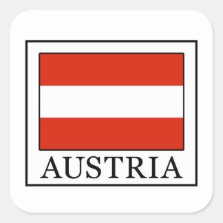 Adesivo Quadrado Áustria