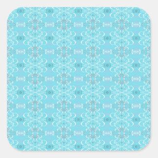 Adesivo Quadrado azul