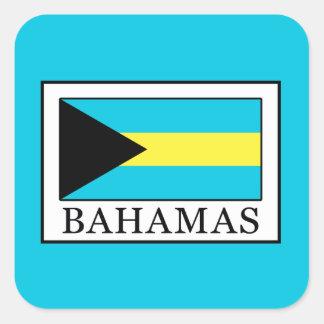 Adesivo Quadrado Bahamas