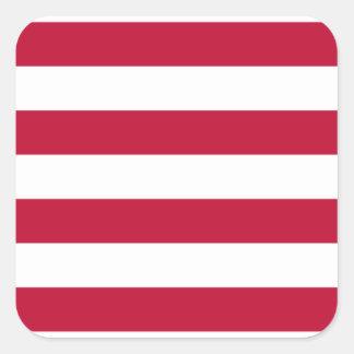 Adesivo Quadrado Baixo custo! Bandeira de Liberia