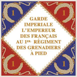 Resultado de imagem para bandeira Garde Nationale