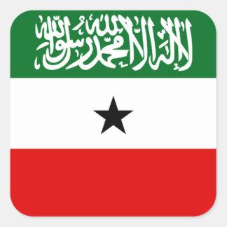 Adesivo Quadrado Bandeira nacional do mundo de Somaliland