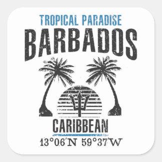 Adesivo Quadrado Barbados