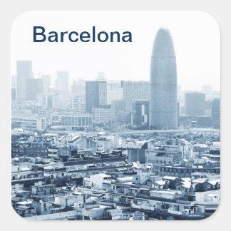 Adesivo Quadrado Barcelona