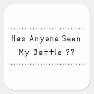 Adesivo Quadrado Batalha