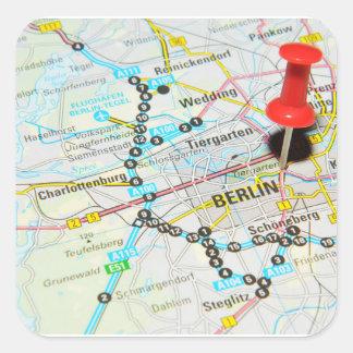Adesivo Quadrado Berlim, Alemanha