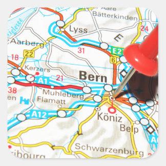 Adesivo Quadrado Berna, suiça