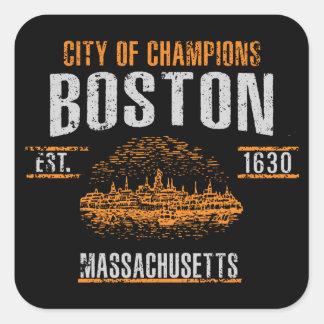 Adesivo Quadrado Boston