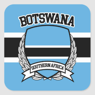 Adesivo Quadrado Botswana