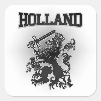 Adesivo Quadrado Brasão de Holland