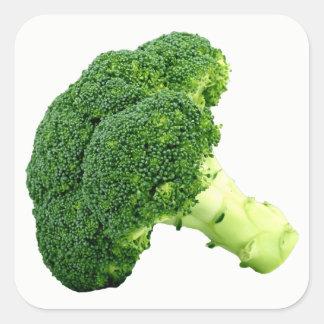 Adesivo Quadrado Brócolos