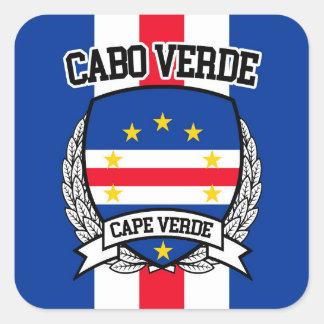 Adesivo Quadrado Cabo Verde