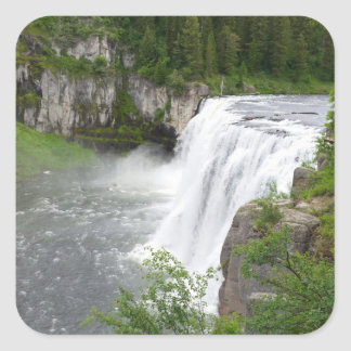 Adesivo Quadrado Cachoeiras