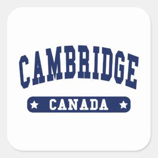 Adesivo Quadrado Cambridge