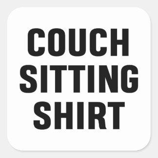 Adesivo Quadrado Camisa de assento do sofá
