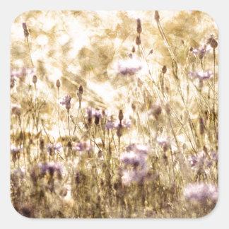 Adesivo Quadrado Campainha Meadow