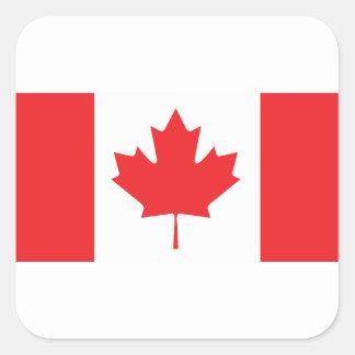 Adesivo Quadrado Canadá