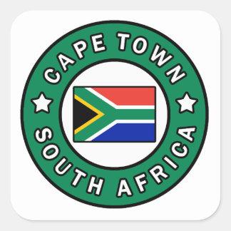 Adesivo Quadrado Cape Town África do Sul