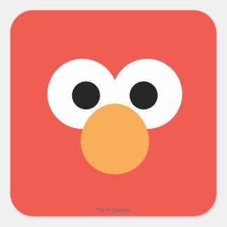 Adesivo Quadrado Cara grande de Elmo
