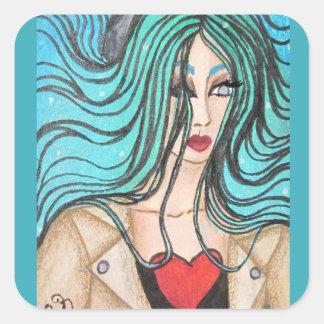 Adesivo Quadrado Card#31