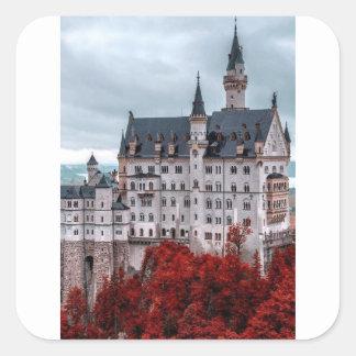 Adesivo Quadrado Castelo na queda