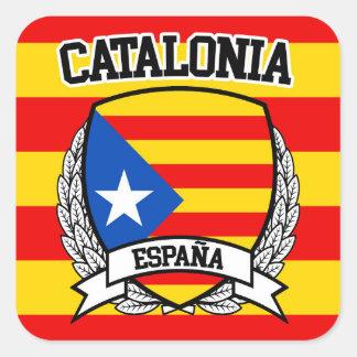 Adesivo Quadrado Catalonia