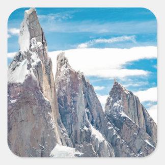 Adesivo Quadrado Cerro Torre - Parque Nacional Los Glaciares