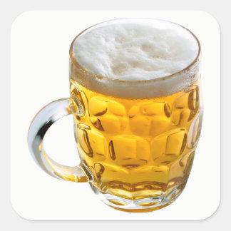 Adesivo Quadrado Cerveja