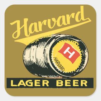 Adesivo Quadrado Cerveja de cerveja pilsen de Harvard