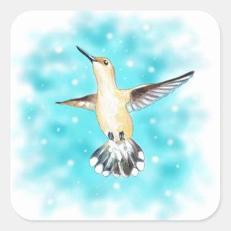 Adesivo Quadrado Céu do colibri