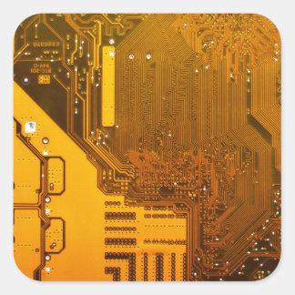 Adesivo Quadrado circuito eletrônico amarelo board.JPG