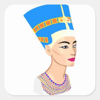 Adesivo Quadrado cleopatra