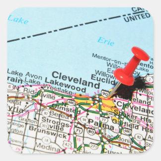 Adesivo Quadrado Cleveland