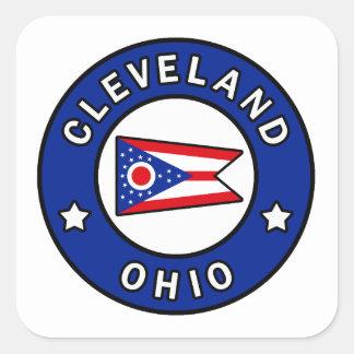 Adesivo Quadrado Cleveland Ohio