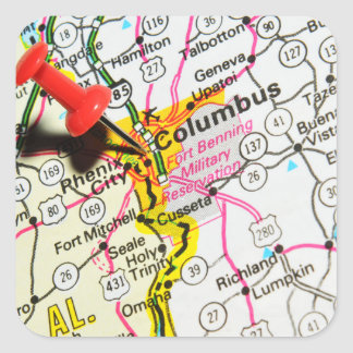 Adesivo Quadrado Columbo, Ohio