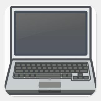 Adesivo Quadrado Computador