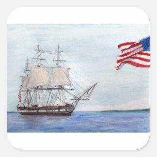 Adesivo Quadrado Constituição de USS