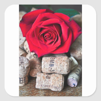 Adesivo Quadrado CONVERSAS ROSA with cork