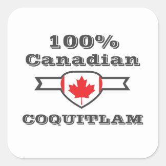 Adesivo Quadrado Coquitlam 100%
