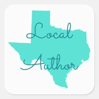 Adesivo Quadrado Criar seu próprio autor do Local de Texas
