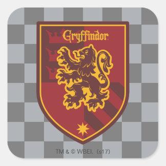 Adesivo Quadrado Crista do orgulho da casa de Harry Potter |
