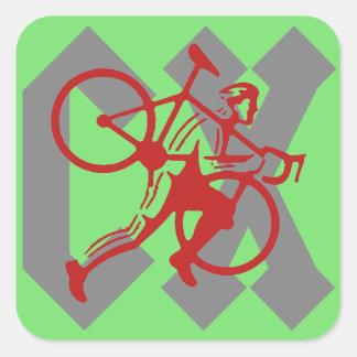 Adesivo Quadrado Cyclocross