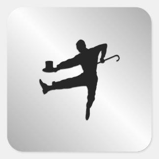 Adesivo Quadrado Dançarino de torneira