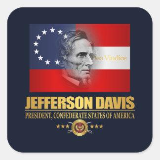 Adesivo Quadrado Davis (patriota do sul)