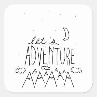 Adesivo Quadrado Deixe-nos Adventure-01