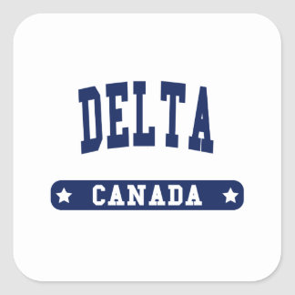 Adesivo Quadrado Delta