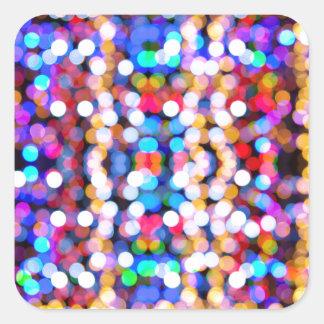 Adesivo Quadrado design novo do Natal