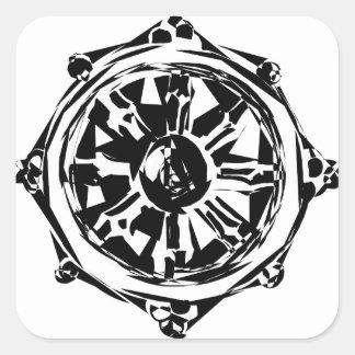 Adesivo Quadrado dharma