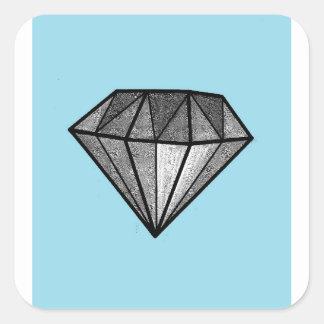 Adesivo Quadrado Diamantes